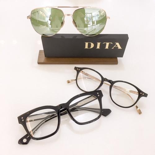 DITA ディータ メガネ ASH サングラス フライト 神戸 ボストンメガネ 黒ブチ.JPEG
