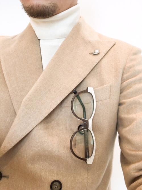 木の眼鏡 木のメガネ ゴールドアンドウッド ウッドメガネフレーム.JPG