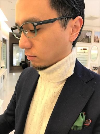 ZEISS ツァイス スーツ ジャケット コーデ.JPG