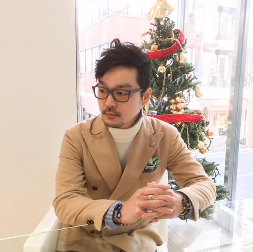 ゴールドアンドウッド ウェリントン 神戸 オシャレメガネ 木のメガネ①.JPG