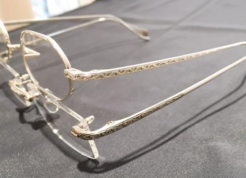 シルバー925メガネフレーム シルバー925眼鏡フレーム 高級メガネ.JPG